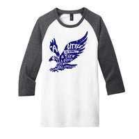 A Little Rebellion - District Very Important Tee 3/4-Sleeve Raglan