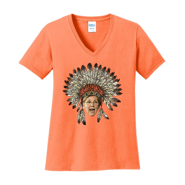 A Warren Thanksgiving - Ladies Core Cotton V-Neck Tee
