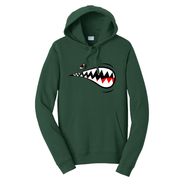 Air Force Shark - Fan Favorite Fleece Pullover Hooded Sweatshirt