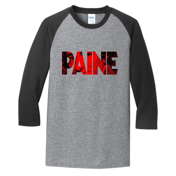 Big Paine - Core Blend 3/4-Sleeve Raglan Tee