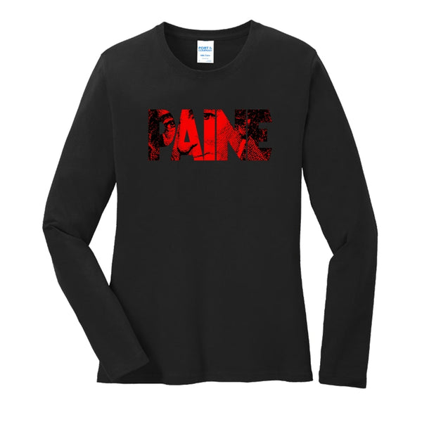 Big Paine - Ladies Long Sleeve Core Cotton Tee