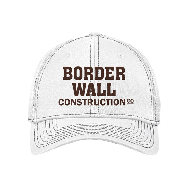Border Wall Construction Co - Stretch Mesh Contrast Stitch Cap
