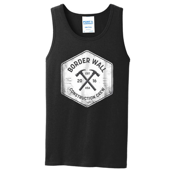 Border Wall Construction Co - Core Cotton Tank Top