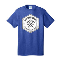 Border Wall Construction Co - Core Cotton Tee