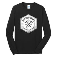 Border Wall Construction Co - Long Sleeve Core Cotton Tee
