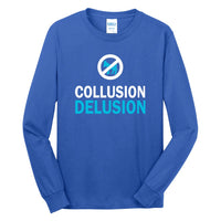 Collusion Delusion - Long Sleeve Core Cotton Tee