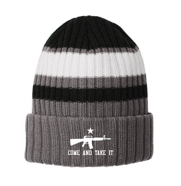 Come & Take It - New Era Ribbed Tailgate Beanie