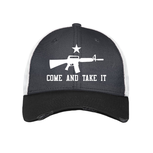 Come & Take It - New Era Vintage Mesh Cap