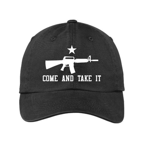 Come & Take It - Port Authority Garment Washed Unstructured Cap
