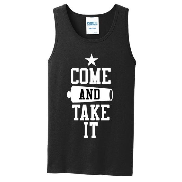 Come & Take It - Core Cotton Tank Top
