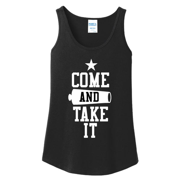 Come & Take It - Ladies Core Cotton Tank Top