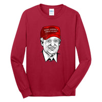 Iconic Trump - Long Sleeve Core Cotton Tee