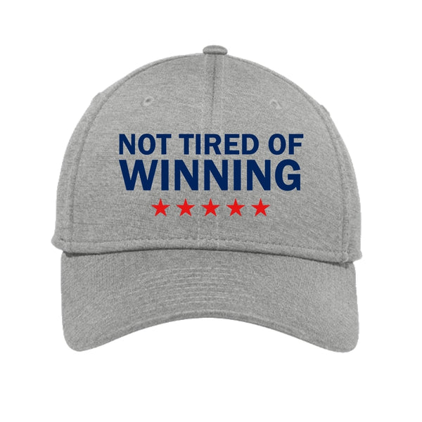 Not Tired of Winning - Shadow Stretch Heather Cap