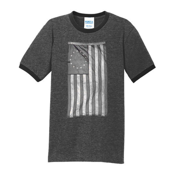 Old Glory - Core Cotton Ringer Tee