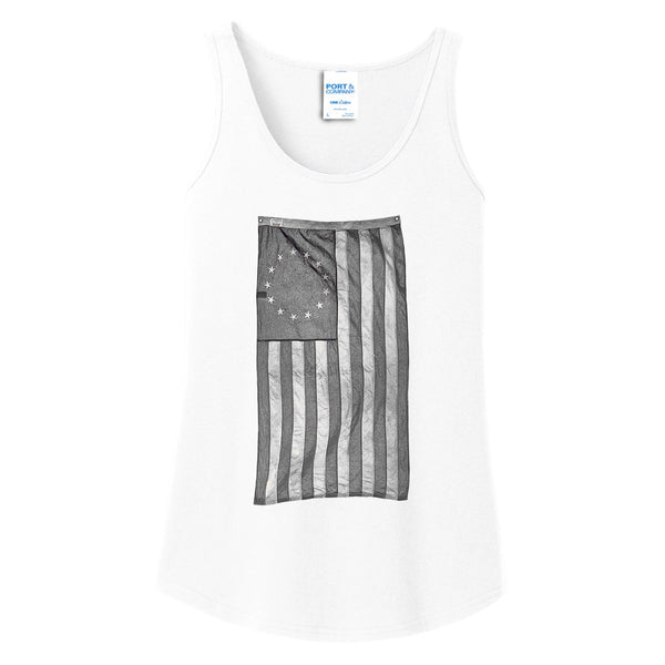 Old Glory - Ladies Core Cotton Tank Top