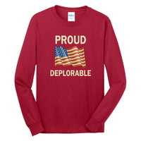 Proud Deplorable - Long Sleeve Core Cotton Tee