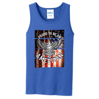Proud To Be An American - Core Cotton Tank Top
