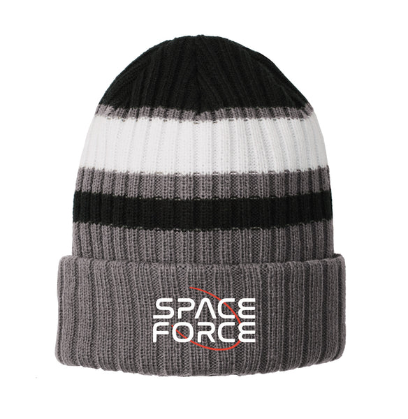 Space Force - New Era Ribbed Tailgate Beanie