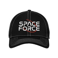 Space Force - Stretch Mesh Contrast Stitch Cap