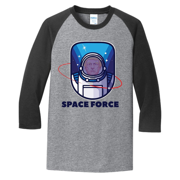 Space Force - Core Blend 3/4-Sleeve Raglan Tee