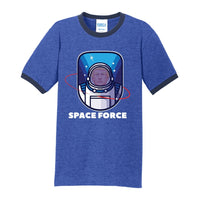 Space Force - Core Cotton Ringer Tee