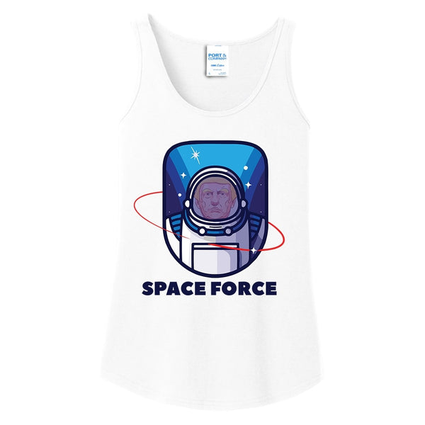 Space Force - Ladies Core Cotton Tank Top