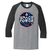 Space Force 2.0 - Core Blend 3/4-Sleeve Raglan Tee