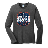 Space Force 2.0 - Ladies Long Sleeve Core Cotton Tee