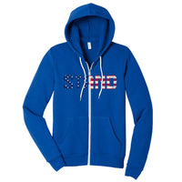 STAND - Sponge Fleece Full-Zip Hoodie