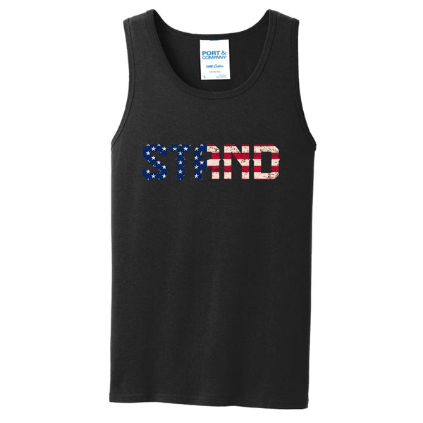 STAND - Core Cotton Tank Top