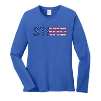 STAND - Ladies Long Sleeve Core Cotton Tee