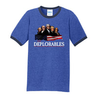 The Deplorables - Core Cotton Ringer Tee