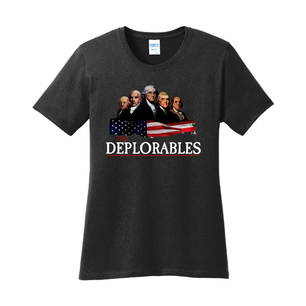 The Deplorables - Ladies Core Cotton Tee