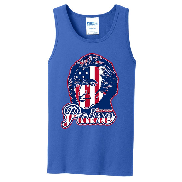 Thomas Paine Patriot - Core Cotton Tank Top