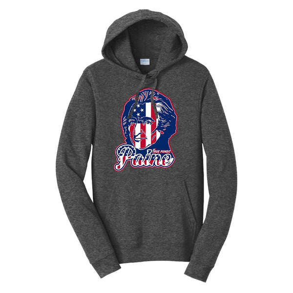 Thomas Paine Patriot - Fan Favorite Fleece Pullover Hooded Sweatshirt