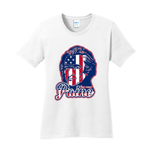 Thomas Paine Patriot - Ladies Core Cotton Tee