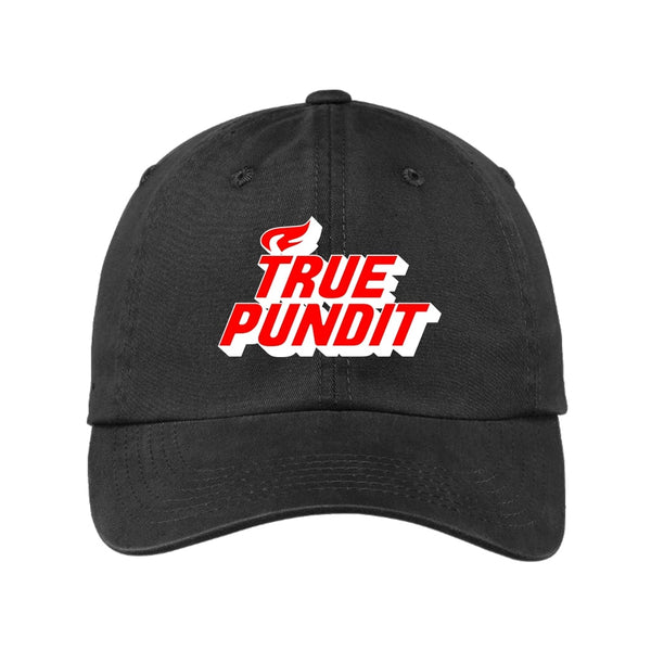 True Pundit - Garment Washed Unstructured Cap