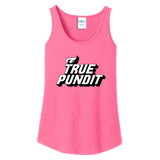True Pundit - Ladies Core Cotton Tank Top