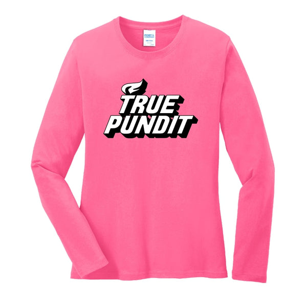 True Pundit - Ladies Long Sleeve Core Cotton Tee
