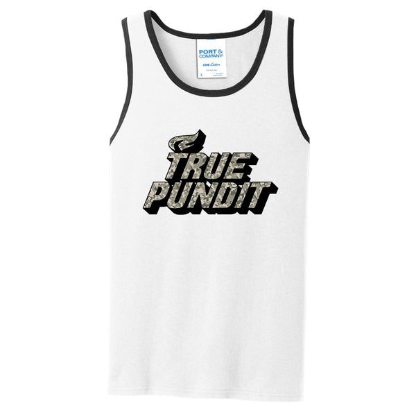 True Pundit Digi Camo - Core Cotton Tank Top