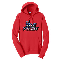 True Pundit Patriot - Fan Favorite Fleece Pullover Hooded Sweatshirt