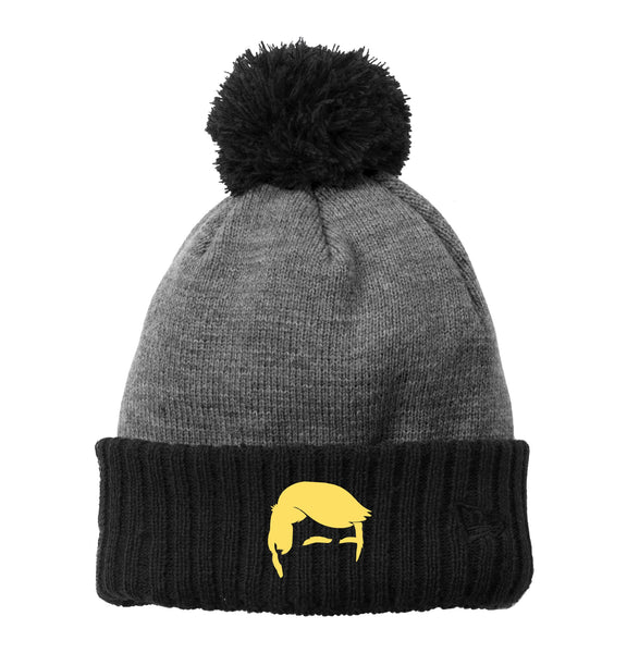 Trump Hair - New Era Colorblock Cuffed Beanie