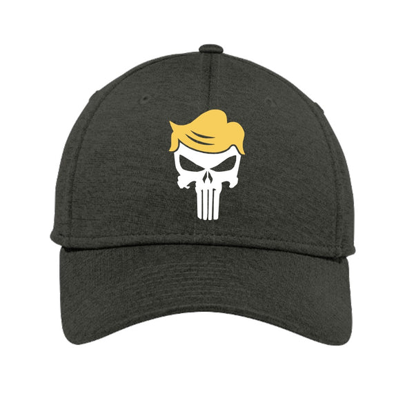 Trump Skull - New Era Shadow Stretch Heather Cap
