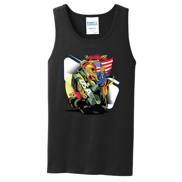 Trump Tanked - Core Cotton Tank Top