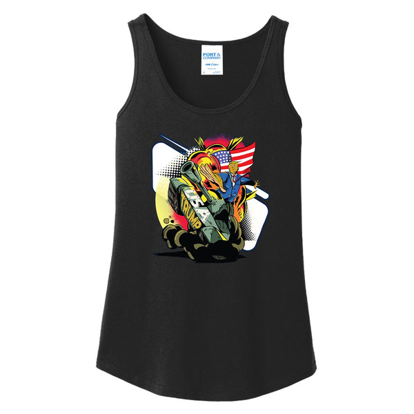 Trump Tanked - Ladies Core Cotton Tank Top