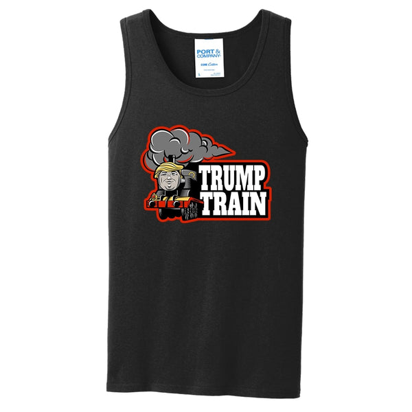 Trump Train - Core Cotton Tank Top