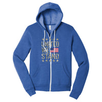 United We Stand - Sponge Fleece Full-Zip Hoodie