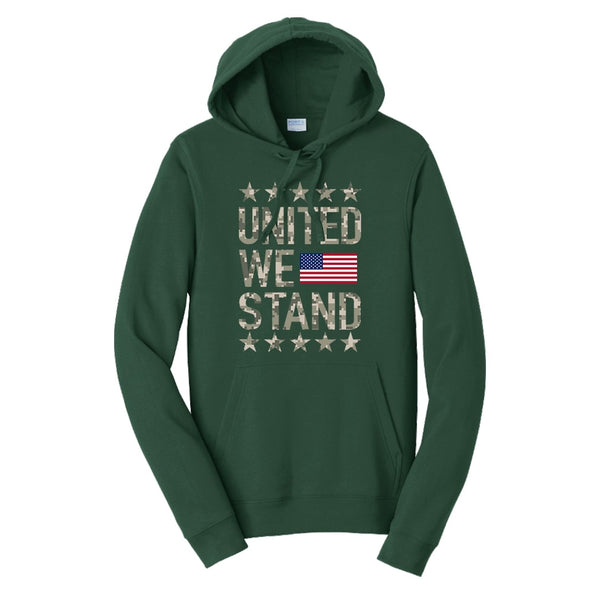 United We Stand - Fan Favorite Fleece Pullover Hooded Sweatshirt