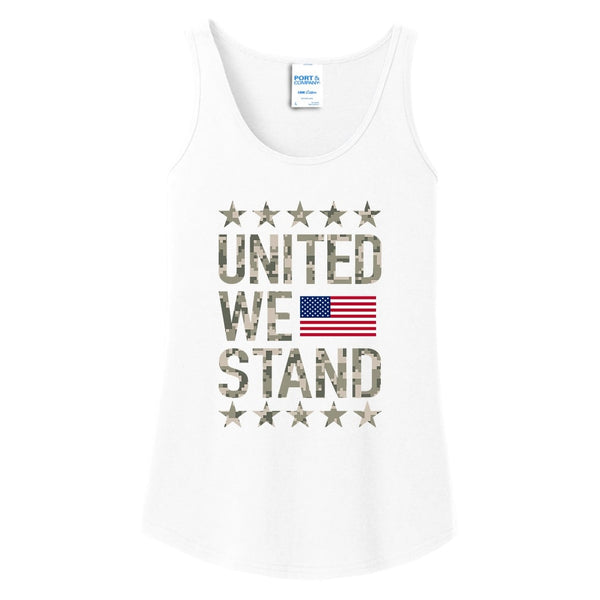 United We Stand - Ladies Core Cotton Tank Top