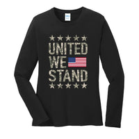 United We Stand - Ladies Long Sleeve Core Cotton Tee